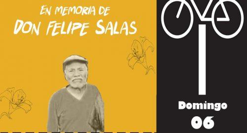Organizaciones rendirán homenaje a Don Felipe, ciclista que perdió la vida en Toluca.